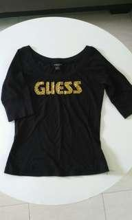 Authentic Guess Black Top
