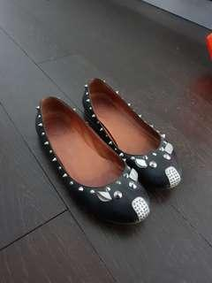 Marc jacobs mice studs flats 37 fits 38