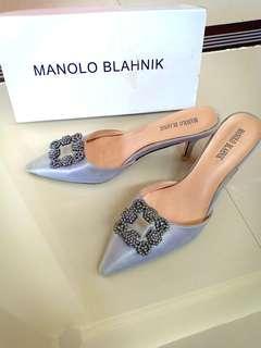 MANOLO BLANHIK SILVER