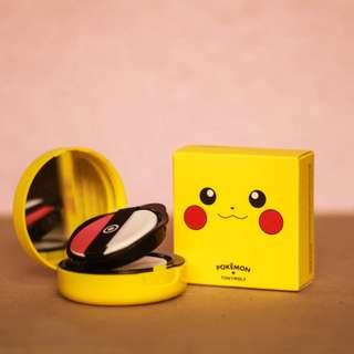 TONY MOLY x Pokemon Collection Pikachu Mini Cushion Blusher in 02 Rose Coral