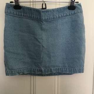 Vanishing Elephant denim skirt