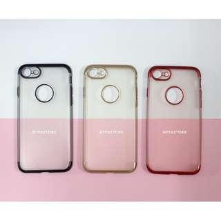 iPhone Electroplated Fashion Soft Case