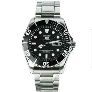 Brand New In Box Seiko 5 Japan Sports Automatic Divers Mens Watch SNZF17K1 With 1 year International Warranty - STILL AVAILABLE Nov 2018