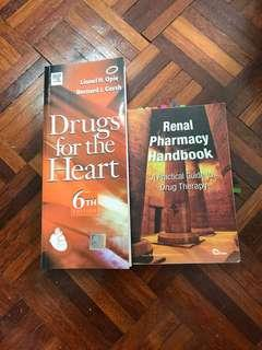 Drugs for the heart & Renal Pharmacy Handbook(1st edition)