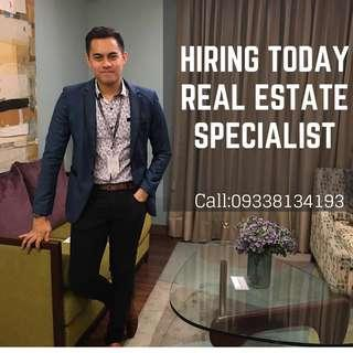 ON THE SPOT HIRING TODAY REAL ESTATE AGENT 14K EARN COMMISSION 500K