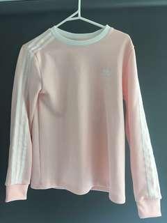 New Adidas Pink Long Sleeve Shirt