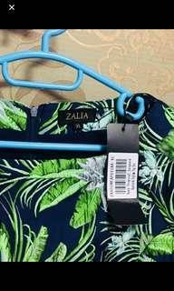 Zalia tropical blouse size XL