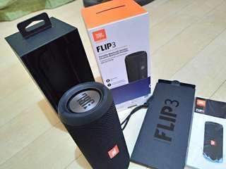 JBL Flip 3 SE Harman Bluetooth Speaker Stealth Edition bnew opened