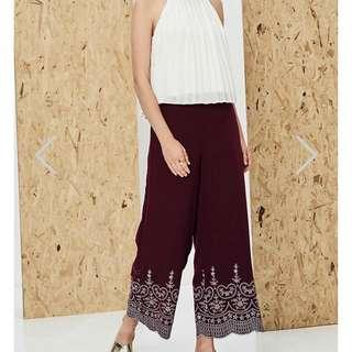 Theclosetlover Enye Embroidered Pants