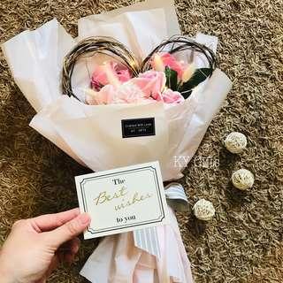101 Love Soap Roses Bouquet