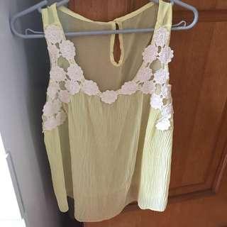 (New) 黃色小背心 Yellow top
