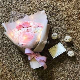 Eternity Soap Roses Bouquet