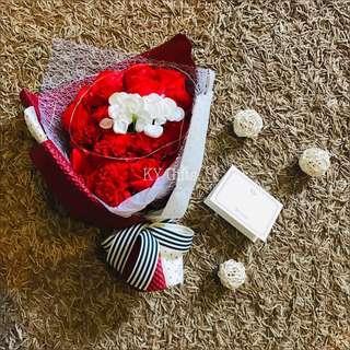 Eternity * Soap Roses Bouquet