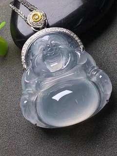 高冰純正佛公「天然翡翠A玉」natural jadeite jade type A