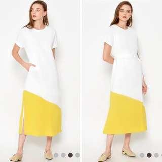 *BNIP* Love&Bravery- Eukene Colourblock Dress