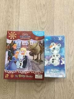 Disney Frozen - Busy Book and Puzzle set