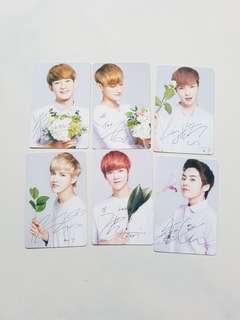 🚚 EXO Nature Republic Photocards EXO-M