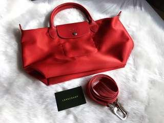 Authentic Longchamp Le Pliage Neo Crossbody Small