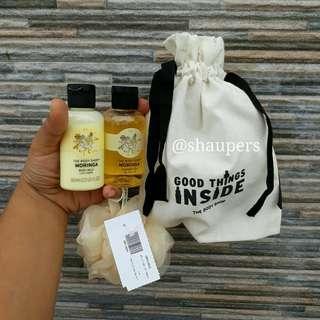 Moringa Gift Set Serut The Body Shop