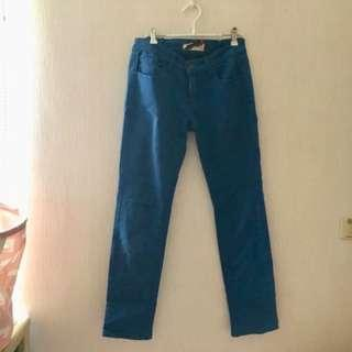 🚚 寶藍長褲