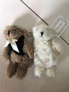 Bn Couple teddy bears