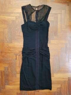 🚚 Nicole Miller Mesh Black Dress