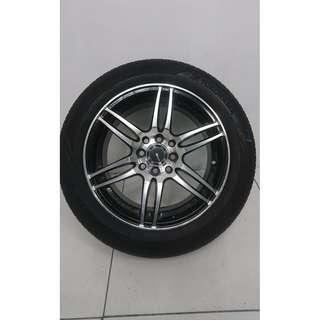 """15"""" Sports Rim With Tyres 4x100 4x114.3 (SR1437)"""
