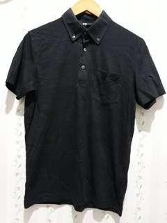 Uniqlo Polo Black