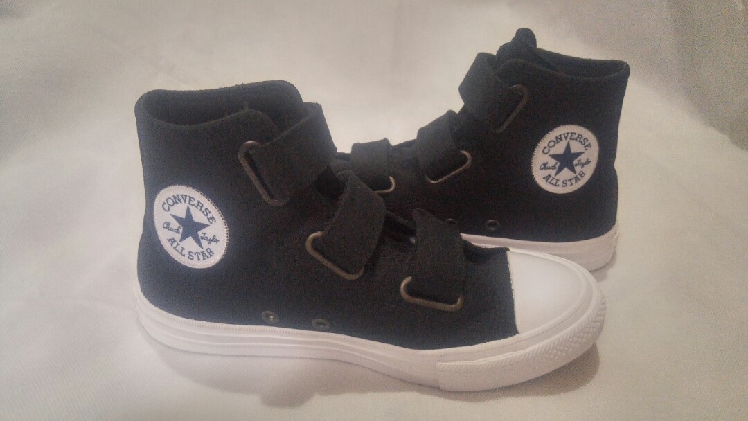 a10ef8794d9b2f Converse Chuck Taylor II Shoes Sneakers Black with Lunarlon Semi ...