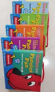 #SINGLES1111 Clifford Phonics Fun Reading Pack 1 to Pack 6