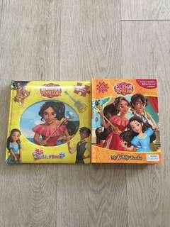 Disney Elena Avalor My First Puzzle Book and My Busy Book Bundle