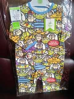 日本 Disney baby Toy Story BB 連身衫 BB衫 (60-70cm) 迪士尼