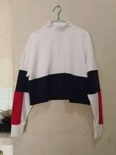 Monki H&M Cropped Sweater