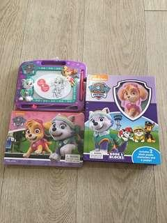 Paw Patrol Busy Book, Storybook and Magnetic Board