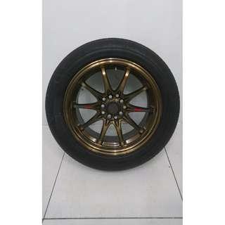 """16"""" Sports Rim With Tyres 5x100 5x114.3 (SR1439)"""