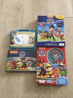 Paw Patrol - My Busy Books, Book and Blocks, Storybook and Magnetic Board