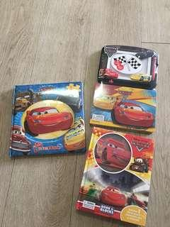 Disney Cars My First Puzzlebook, Book and Blocks, Magnetic Board and Storybook