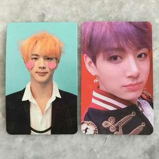 bts love yourself answer photocard