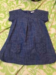Next Denim Baby Dress