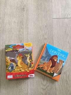 Disney Lion Guard Busybook and Disney Lion King Storybook
