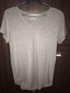 Gray, soft shirt
