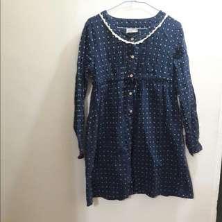 日牌olivedesolive純棉洋裝