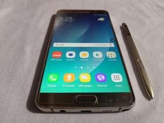 Samsung Galaxy Note 5 32GB 4GB Ram Platinum Gold