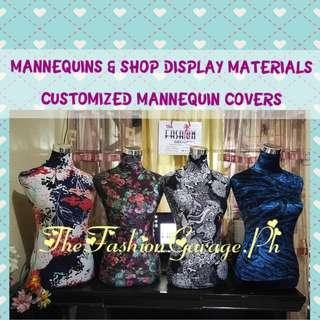 Decorative Cover Half Body Mannequin