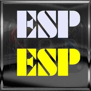 ESP guitar logo Sticker