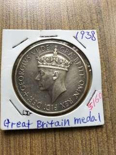 Beautiful Great Britain Medal