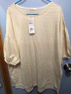 全新RETRO GIRL 寬鬆長身衫