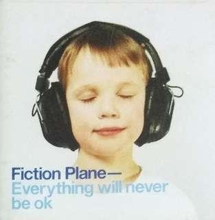 arthcd FICTION PLANE Everything Will Never Be OK CD