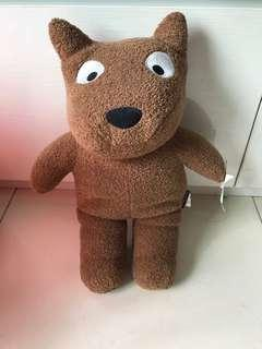 Brand new 家有贱狗 brown dog toy