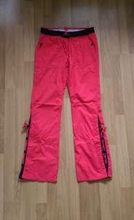 Tommy Hilfiger Red Sporty Chino Pants